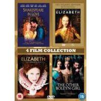 Shakespeare In Love/Elizabeth/Elizabeth: Golden Age/Other Boleyn Girl