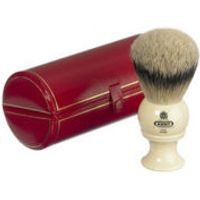 Kent Bk8 Traditional Pure Silver Tip Badger Shaving Brush - Large