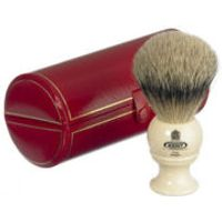 Kent Traditional Pure Grey Badger Shaving Brush - Medium (Bk2)