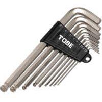 TOBE Ball End Allen Key Wrench Set - 9 Piece