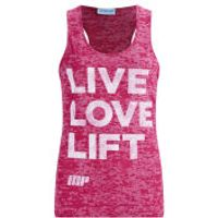 Myprotein Women's Burnout Vest - Pink, UK 12