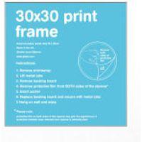 White Frame - 30 x 30cm