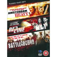 Action Movies Collection (Amsterdam Heavy / Red Line / Battleground)