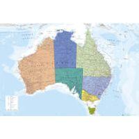 Australia Map - Maxi Poster - 61 x 91.5cm