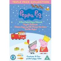 Peppa Pig - Triple Pack (Princess Peppa / Fire Engine. / Xmas)