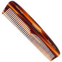 Kent Tortoiseshell Effect Fine/Coarse Pocket Comb (R7T)