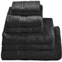 Restmor 100% Egyptian Cotton 7 Piece Supreme Towel Bale Set (500gsm) - Black