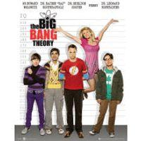 The Big Bang Theory Line Up - Mini Poster - 40 x 50cm