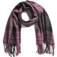 Impulse Womens Check Scarf - Pink