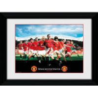 Manchester United Legends - 16 x 12 Framed Photographic