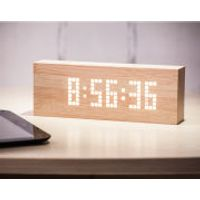 Message Click Clock - Beech