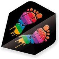 Dart Flight Metallic Plus - Feet