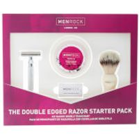 Men Rock Double Edge Razor Starter Pack