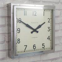 Newgate Quad Chrome Clock