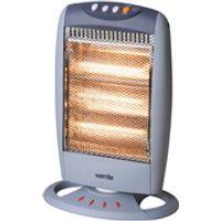 Warmlite WL42005 Halogen Heater - Grey - 1200W