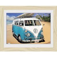 VW Californian Camper Camper - 30 x 40cm Collector Prints