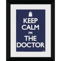 Doctor Who Keep Calm - 30 x 40cm Collector Prints