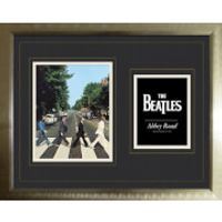 The Beatles Abbey Road - High End Framed Photo - 16 x 20