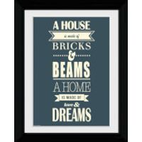 House Of Dreams - Collector Print - 30 x 40cm