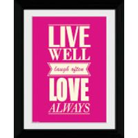 Live Love - Collector Print - 30 x 40cm