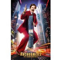 Anchorman 2 Ron Burgundy - Maxi Poster - 61 x 91.5cm
