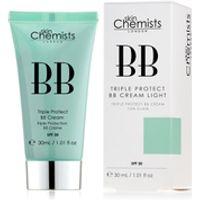skinChemists Triple Protect BB Cream with SPF 30 - Light (30ml)