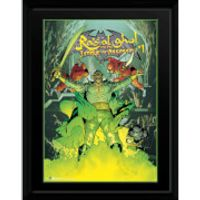 DC Comics Ras Al Ghul - 16 x 12 Framed Photgraphic