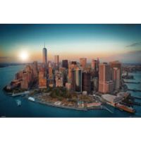 New York Freedom Tower Manhattan - Maxi Poster - 61 x 91.5cm