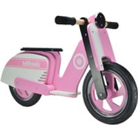 Kiddimoto Stripe Scooter - Pink
