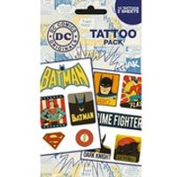 DC Comics Retro - Tattoo Pack