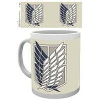 Attack on Titan Badge Mug