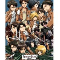 Attack on Titan Collage - Mini Poster - 40 x 50cm