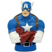 Marvel Avengers Age of Ultron Captain America Bust Bank