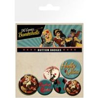 DC Comics Harley Quinn Bombshell - Badge Pack