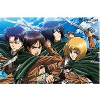 Attack on Titan Four Swords - Maxi Poster - 61 x 91.5cm
