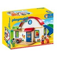 Playmobil 1.2.3 Suburban Home (6784)