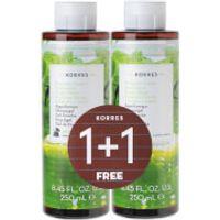 Korres Limited Edition 1 + 1 Basil Lemon Shower Gel (250ml)
