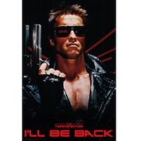 Terminator Ill Be Back - Maxi Poster - 61 x 91.5cm