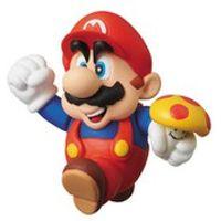 Nintendo Series 1 Super Mario Bros. Mario with Mushroom Mini Figure