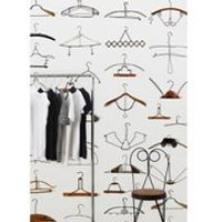 NLXL Obsession Hangers Wallpaper Roll by Daniel Rozensztroch - Multi