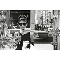 Audrey Hepburn Window - 24 x 36 Inches Maxi Poster
