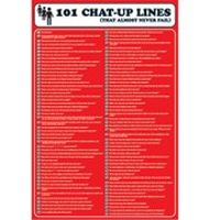 101 Chat Up Lines - 24 x 36 Inches Maxi Poster