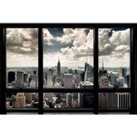 New York Window - 24 x 36 Inches Maxi Poster