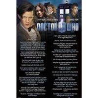 Doctor Who Everything I Know - 24 x 36 Inches Maxi Poster