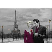 Paris Sunset Chris Consani - 24 x 36 Inches Maxi Poster