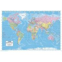 World Map - 24 x 36 Inches Maxi Poster