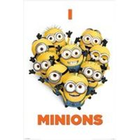 Despicable Me I Love Minions - 24 x 36 Inches Maxi Poster