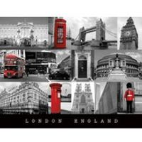 London England - 16 x 20 Inches Mini Poster