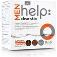 Works with Water Mens Help: Clear Skin Soluble Supplement (14 x 3.5g)