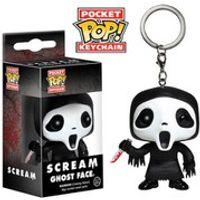 Scream Ghostface Pocket Pop! Vinyl Key Chain